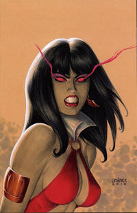 Cover Thumbnail for Vampirella (Dynamite Entertainment, 2017 series) #1 [Cover I Retailer Incentive 'Virgin' Linsner]
