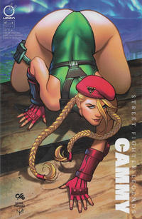 Cover Thumbnail for Street Fighter Legends: Cammy (Udon Comics, 2016 series) #1 [Cover D - Frank Cho 'Homage']
