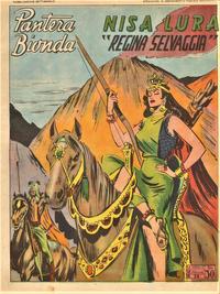 Cover Thumbnail for Pantera Bionda (A.R.C., 1948 series) #58