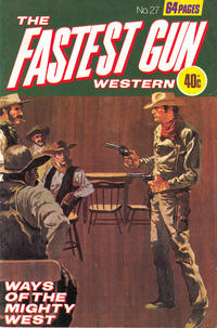 Cover Thumbnail for The Fastest Gun Western (K. G. Murray, 1972 series) #27