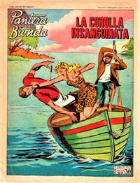 Cover Thumbnail for Pantera Bionda (A.R.C., 1948 series) #89