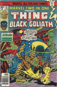 Cover Thumbnail for Marvel Two-in-One (Marvel, 1974 series) #24 [British]