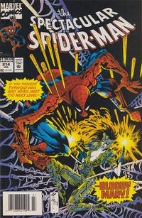 Cover Thumbnail for The Spectacular Spider-Man (Marvel, 1976 series) #214 [Newsstand]