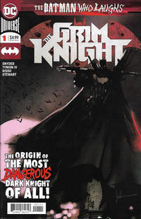 Cover Thumbnail for The Batman Who Laughs: The Grim Knight (DC, 2019 series) #1 [Jock Cover]