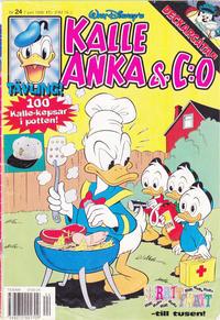 Cover Thumbnail for Kalle Anka & C:o (Serieförlaget [1980-talet], 1992 series) #24/1996