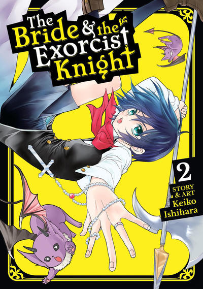 Cover for The Bride & the Exorcist Knight (Seven Seas Entertainment, 2018 series) #2