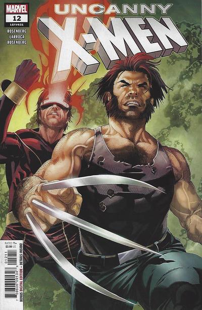 Cover for Uncanny X-Men (Marvel, 2019 series) #12 (631) [Second Printing - Salvador Larroca]