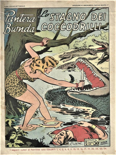 Cover for Pantera Bionda (A.R.C., 1948 series) #48