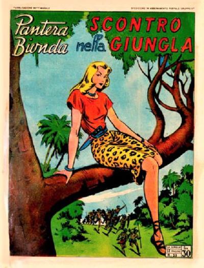 Cover for Pantera Bionda (A.R.C., 1948 series) #55