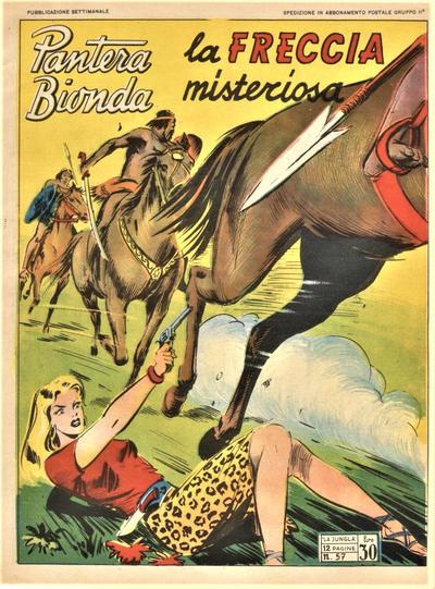 Cover for Pantera Bionda (A.R.C., 1948 series) #57