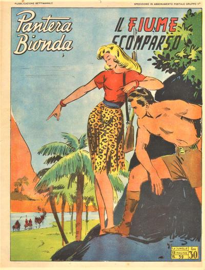 Cover for Pantera Bionda (A.R.C., 1948 series) #59