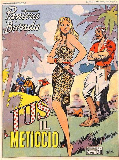 Cover for Pantera Bionda (A.R.C., 1948 series) #78
