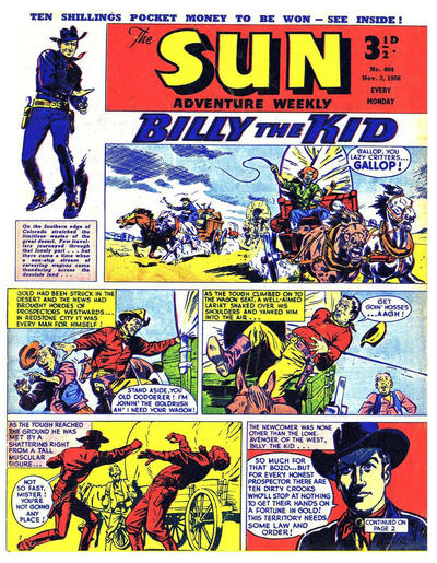 Cover for Sun (Amalgamated Press, 1952 series) #404