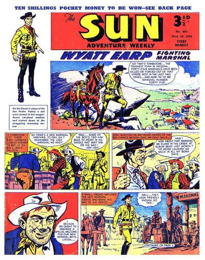Cover for Sun (Amalgamated Press, 1952 series) #405