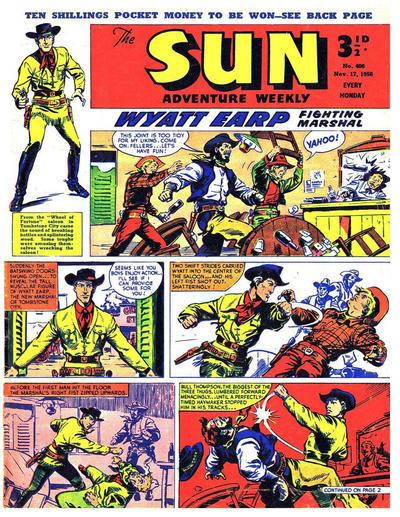 Cover for Sun (Amalgamated Press, 1952 series) #406