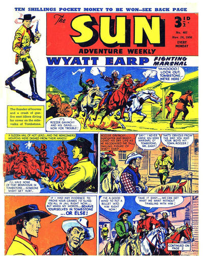 Cover for Sun (Amalgamated Press, 1952 series) #407