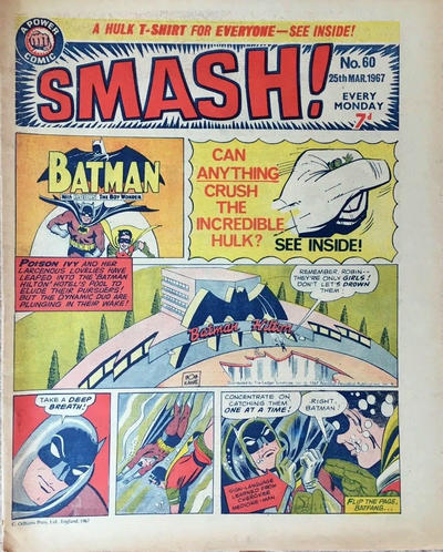 Cover for Smash! (IPC, 1966 series) #60