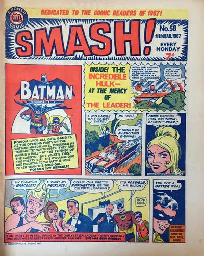 Cover for Smash! (IPC, 1966 series) #58