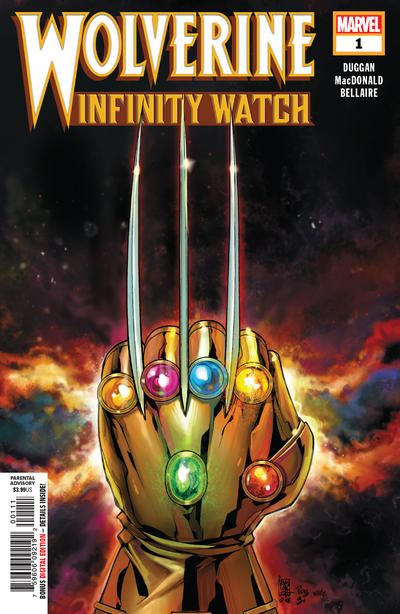 Cover for Wolverine: Infinity Watch (Marvel, 2019 series) #1 [Giuseppe Camuncoli]