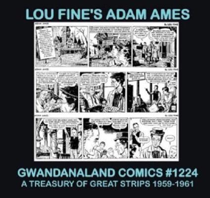 Cover for Gwandanaland Comics (Gwandanaland Comics, 2016 series) #1224 - Lou Fine's Adam Ames
