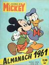 Cover for Almanach du Journal de Mickey (Hachette, 1956 series) #1961