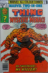 Cover for Marvel Two-in-One (Marvel, 1974 series) #31 [British]
