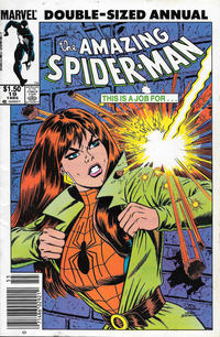 Cover Thumbnail for The Amazing Spider-Man Annual (Marvel, 1964 series) #19 [Canadian]