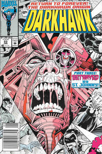 Cover Thumbnail for Darkhawk (Marvel, 1991 series) #23 [Newsstand]