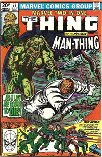 Cover Thumbnail for Marvel Two-in-One (Marvel, 1974 series) #77 [British]