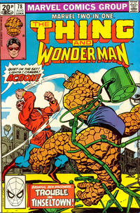 Cover Thumbnail for Marvel Two-in-One (Marvel, 1974 series) #78 [British]