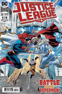 Cover Thumbnail for Justice League (DC, 2018 series) #20 [Jorge Jimenez Center Cover]