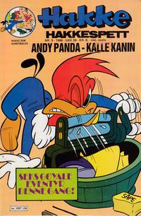 Cover Thumbnail for Hakke Hakkespett (Semic, 1977 series) #9/1986