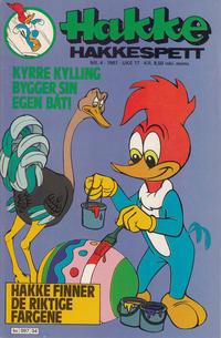 Cover Thumbnail for Hakke Hakkespett (Semic, 1977 series) #4/1987