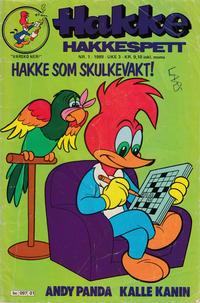 Cover Thumbnail for Hakke Hakkespett (Semic, 1977 series) #1/1988