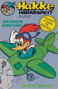 Cover Thumbnail for Hakke Hakkespett (Semic, 1977 series) #2/1988
