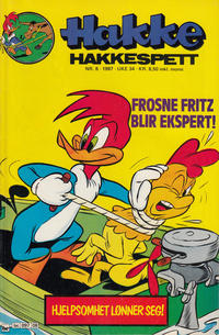 Cover Thumbnail for Hakke Hakkespett (Semic, 1977 series) #8/1987