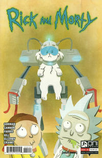 Cover Thumbnail for Rick and Morty (Oni Press, 2015 series) #5 [Second Printing Variant]