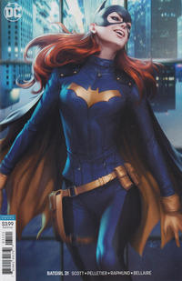 "Cover Thumbnail for Batgirl (DC, 2016 series) #31 [Stanley ""Artgerm"" Lau Cover]"