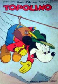 Cover for Topolino (Arnoldo Mondadori Editore, 1949 series) #344