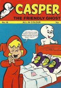 Cover Thumbnail for Casper the Friendly Ghost (Thorpe & Porter, 1973 series) #18