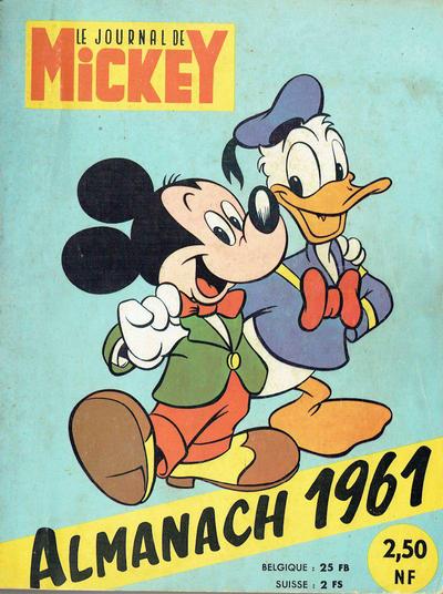Cover for Almanach du Journal de Mickey (Disney Hachette Presse, 1956 series) #1961
