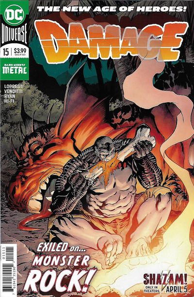 Cover for Damage (DC, 2018 series) #15