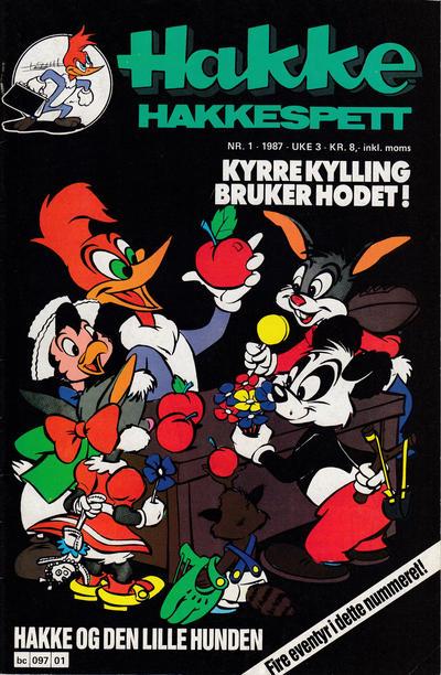 Cover for Hakke Hakkespett (Semic, 1977 series) #1/1987