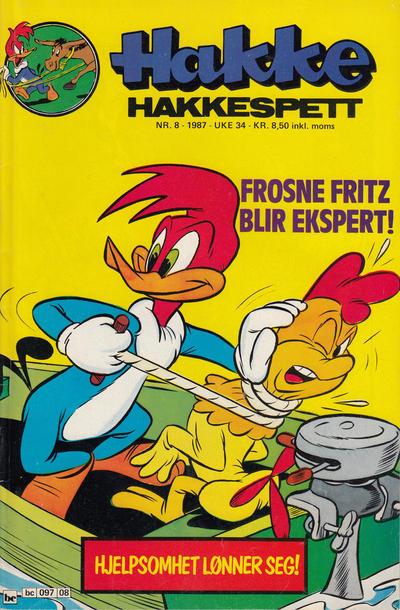 Cover for Hakke Hakkespett (Semic, 1977 series) #8/1987