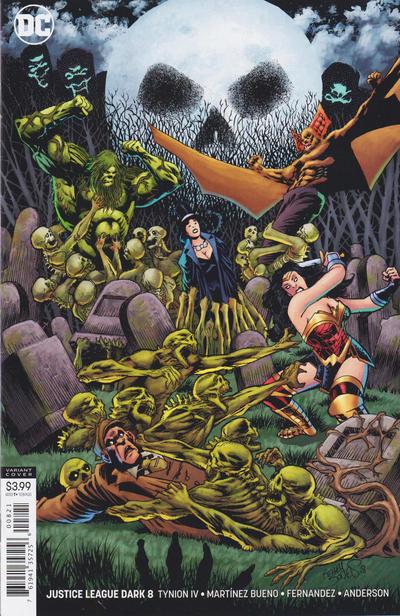 Cover for Justice League Dark (DC, 2018 series) #8 [Alvaro Martinez Bueno & Raul Fernandez Cover]