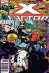 Cover Thumbnail for X-Factor (1986 series) #72 [Newsstand]