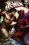 Cover for Uncanny X-Men (Marvel, 2019 series) #8 [Dale Keown 'Conan Vs']