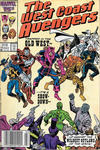Cover Thumbnail for West Coast Avengers (1985 series) #18 [Newsstand]