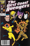Cover Thumbnail for West Coast Avengers (1985 series) #16 [Newsstand]
