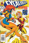 Cover for Excalibur (Marvel, 1988 series) #72 [Newsstand]